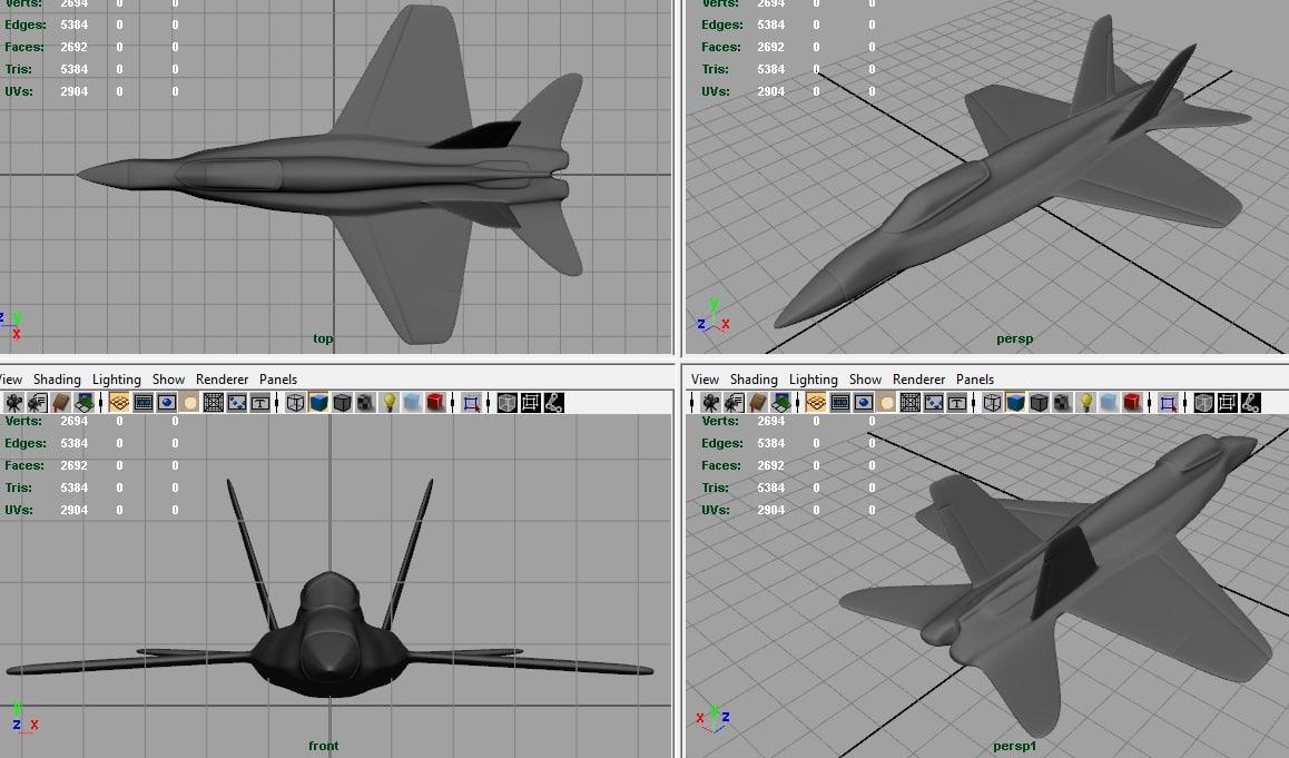 All Types f 22 raptor specs : f-18 fighter 3d model