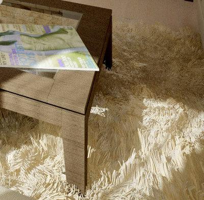3ds max shag pile carpet