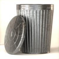 metal trash c4d