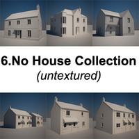 Domestic House Collection - Untextured