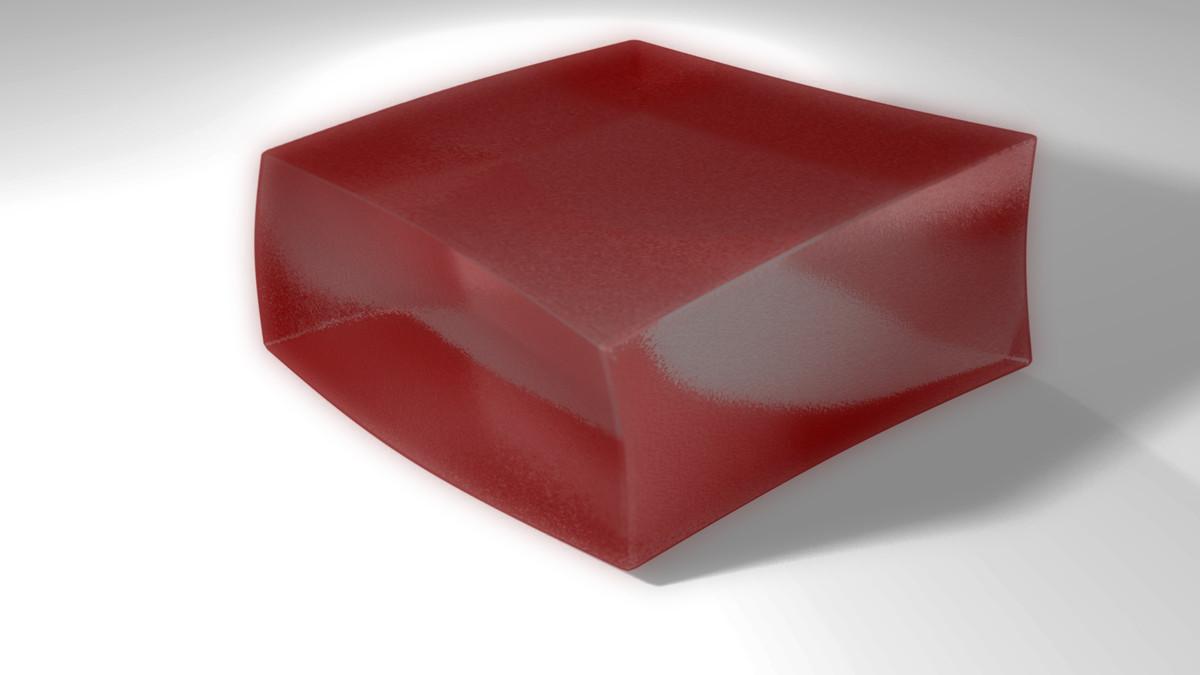 3d jello cube