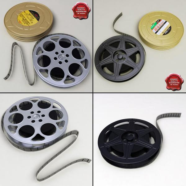 3d model negative films