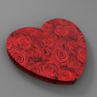 valentines heart 3d lwo