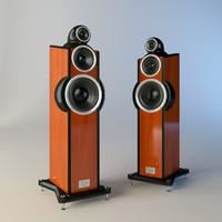3dsmax floor standing loudspeaker