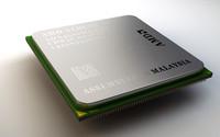 3d model amd athlon processor