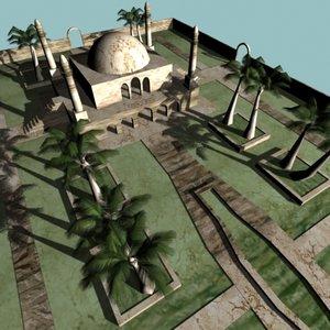 3d arabic mosquet