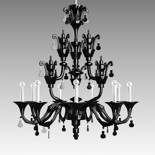 barovier toso crystal 3d model