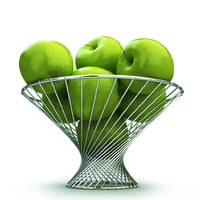 basket apple green max