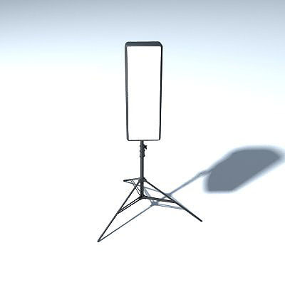 3d model soft box light