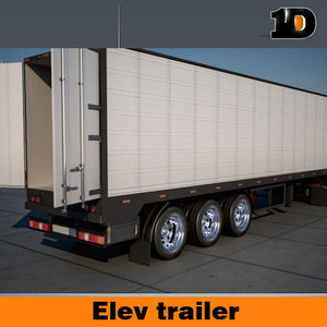 3d 3ds semi truck