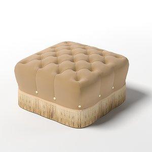3d model francesco molon pouf