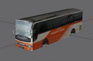 japan haneda bus 3d model