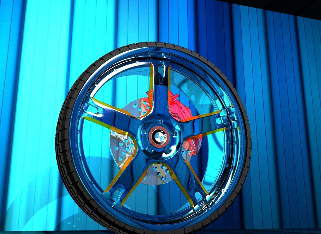3d model of tuning wheel rim chameleon