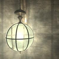 c4d victorian lamp