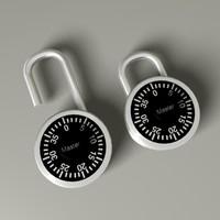 c4d combination lock