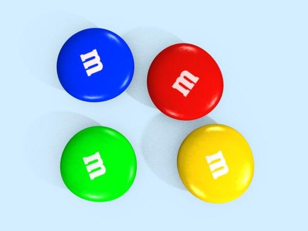 candy color 3d blend