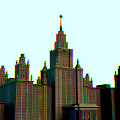 moscow state 3d model