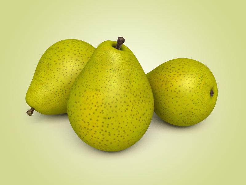 3d pear