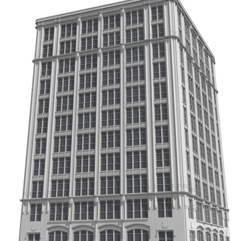 city skyscraper 3d model