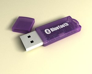 3d model usb-bluetooth bluetooth usb