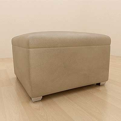 3ds max leather ottoman
