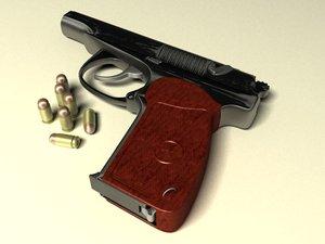 makarov 9-mm - pistol max