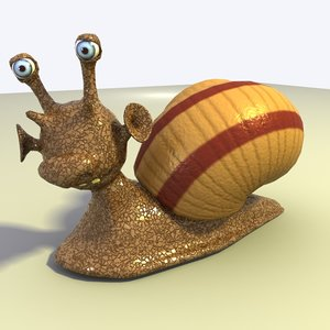 cartoon snail max