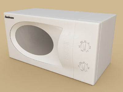 microwave oven 3ds