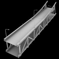 bridge section 3d model