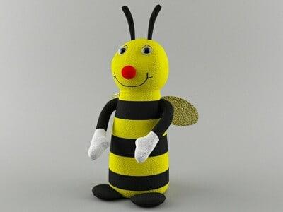 3d toy bee model