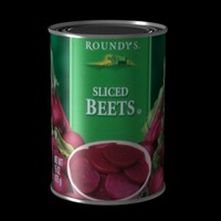 free canned beets 3d model