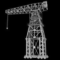 Vintage Dock Crane