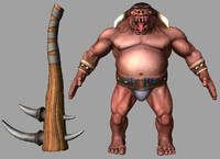 minotaur modelled 3d model