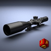 scope optical sight nightforce 3d model
