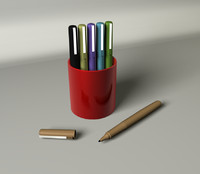 3d model markers