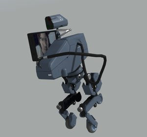 3d model metal gear