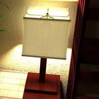 mission desk lamp small max