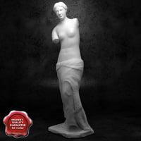 3dsmax venus statue