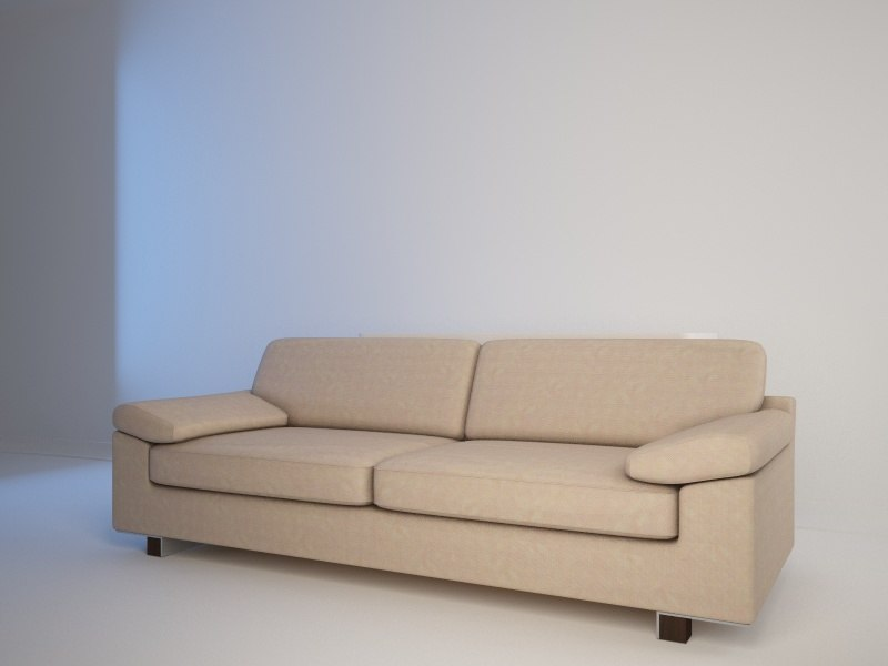 3ds max interiors couch