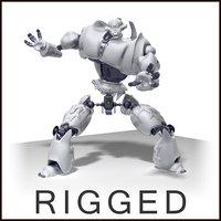 Robot + environment scene