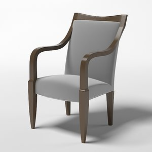 3d model donghia chair