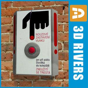 3d model emergency box