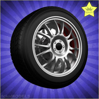 car wheel 3ds