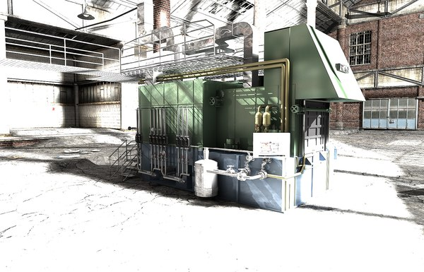 furnace 3d model