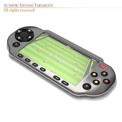 3d generic portable console