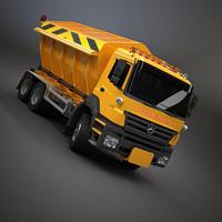 gritter truck 3d max