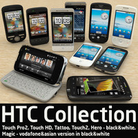 3d model of htc mobile phones