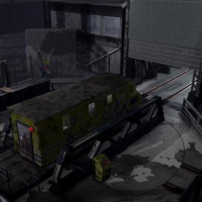 3d model old plattform