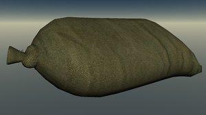 easy sandbag 3d lwo