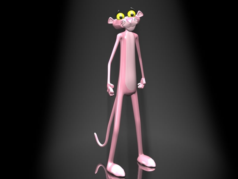 pink panther 3ds